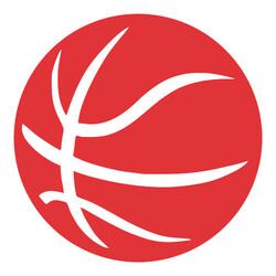 recorte bola de basquete